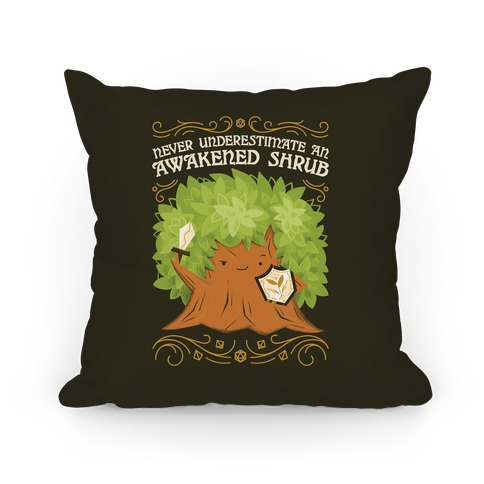 Awakened Shrub Pillow