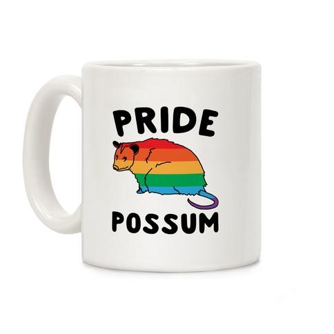 Pride Possum Coffee Mug