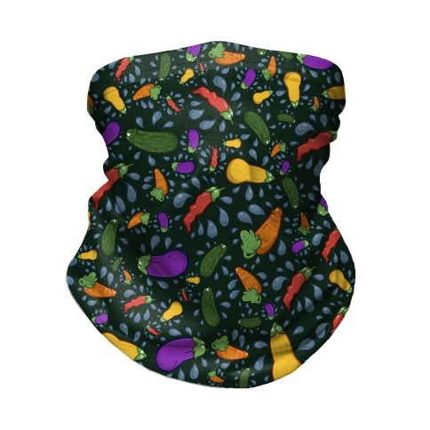 Penis Produce Pattern Neck Gaiter