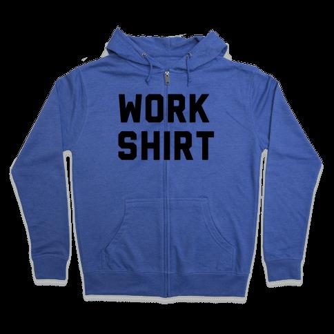 Work Shirt Zip Hoodie