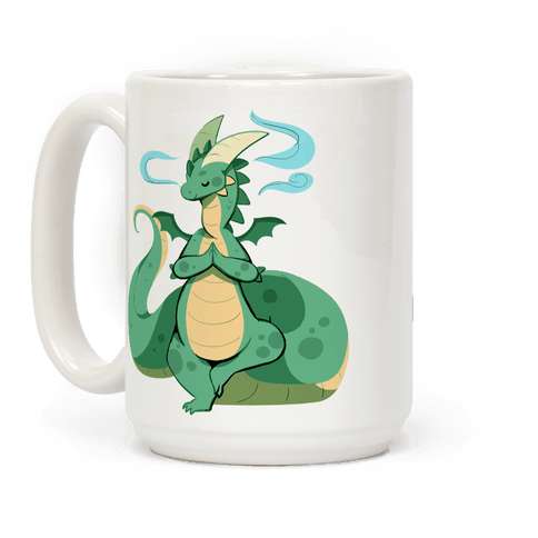 Dragon At Peace Coffee Mug