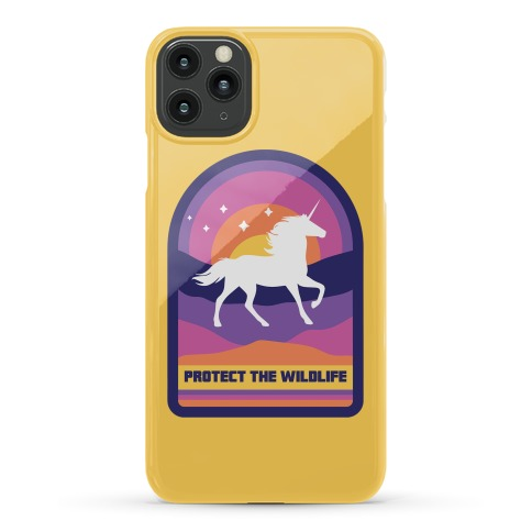 Protect The Wildlife (Unicorn) Phone Case