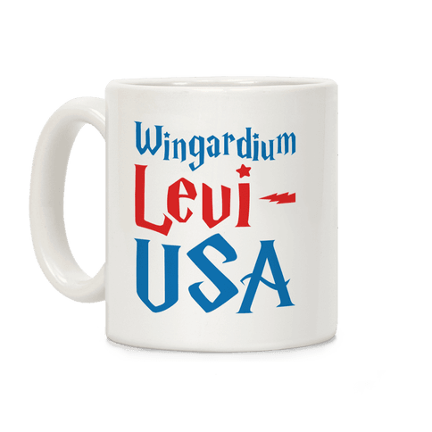 Wingardium Levi-USA Coffee Mug