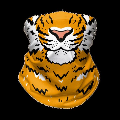 Tiger Face Neck Gaiter