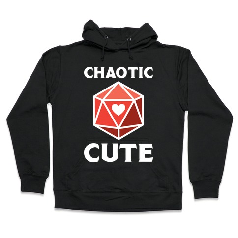 Chaotic Cute Hooded Sweatshirt