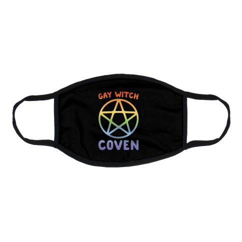Gay Witch Coven Flat Face Mask