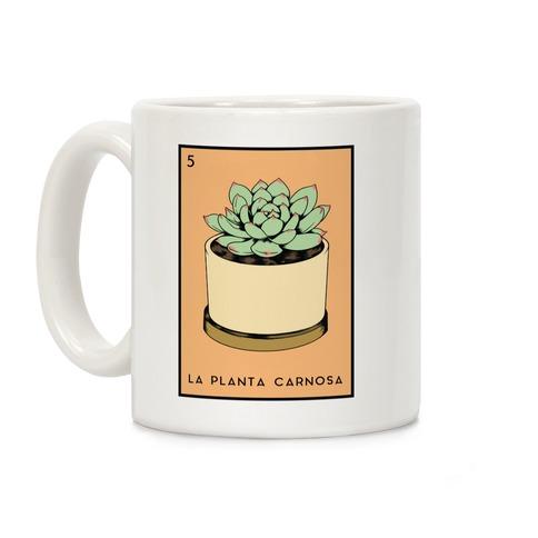 La Planta Carnosa Succulent Loteria Coffee Mug