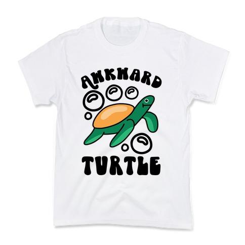 Awkward Turtle Kids T-Shirt