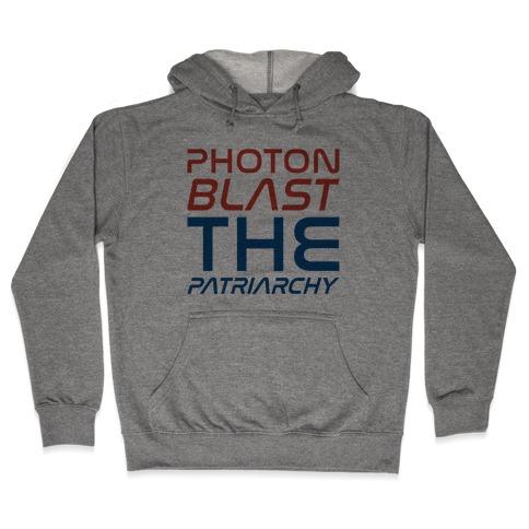 Photon Blast The Patriarchy Parody Hooded Sweatshirt