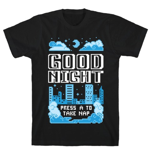 Good Night Game Over Screen T-Shirt