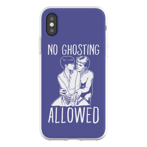 No Ghosting Allowed Phone Flexi-Case