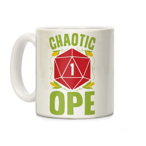 Chaotic Ope Coffee Mug