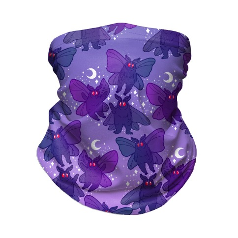 Chubby Mothman Nighttime Pattern Neck Gaiter