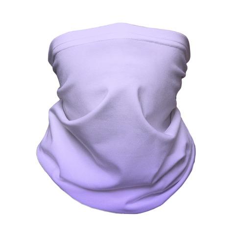 Lavender Gradient Neck Gaiter