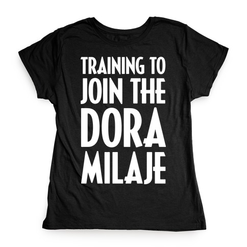 Training To Join The Dora Milaje Womens T-Shirt