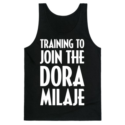 Training To Join The Dora Milaje Tank Top