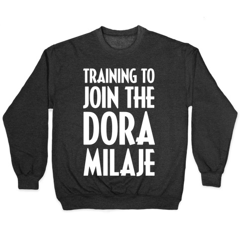 Training To Join The Dora Milaje Pullover