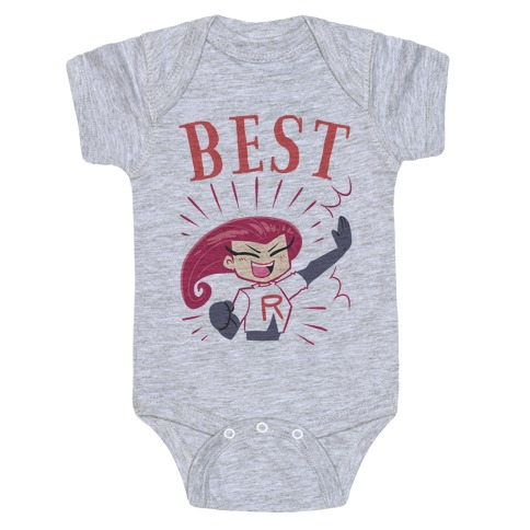 Best Friends Team Rocket Jessie Baby Onesy