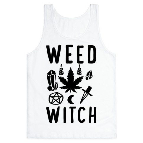 Weed Witch Tank Top