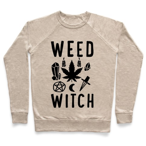 Weed Witch Pullover