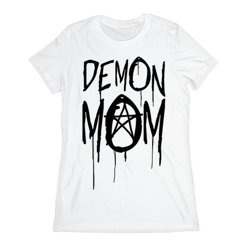 Demon Mom Womens T-Shirt