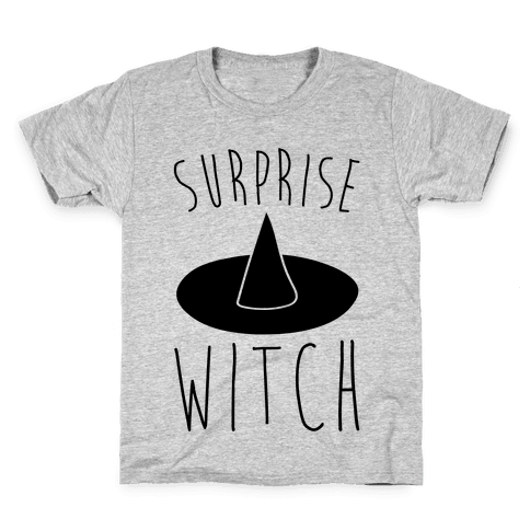 Surprise Witch Parody Kids T-Shirt