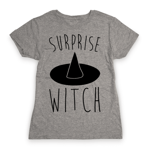 Surprise Witch Parody Womens T-Shirt