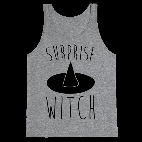 Surprise Witch Parody Tank Top