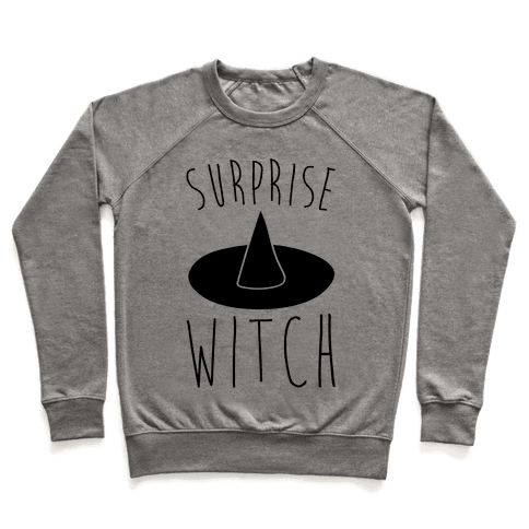 Surprise Witch Parody Pullover