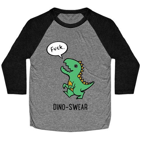 Dino-swear Baseball Tee