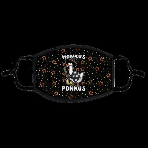 Honkus Ponkus Flat Face Mask