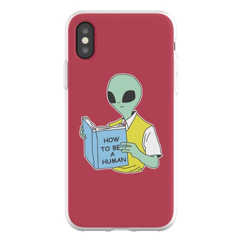 How to Be a Human Phone Flexi-Case