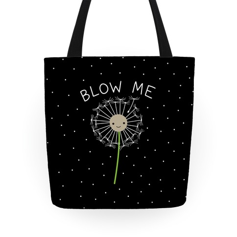 Blow Me Dandelion Tote