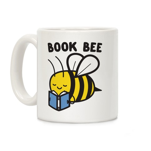 Book Bee Coffee Mug