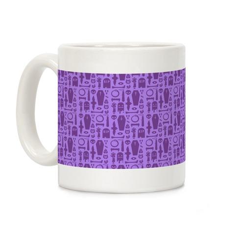 Simple Halloween Pattern Coffee Mug