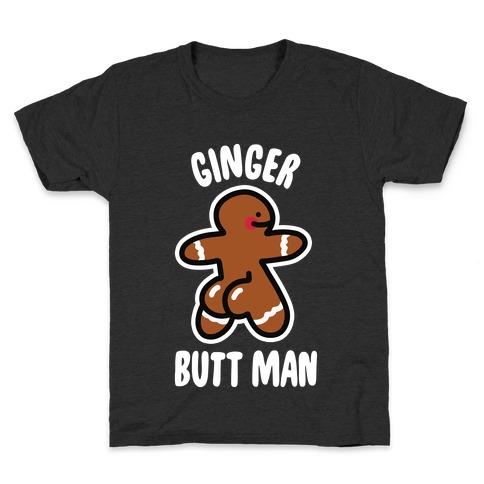 Ginger Butt Man Kids T-Shirt