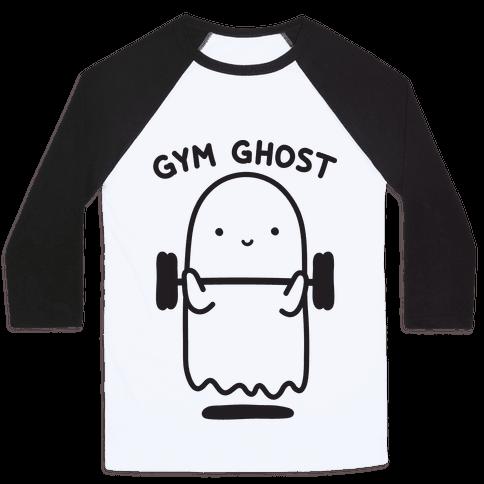 Gym Ghost Baseball Tee