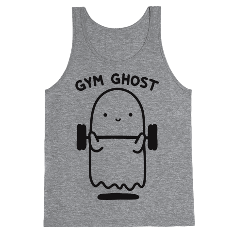 Gym Ghost Tank Top