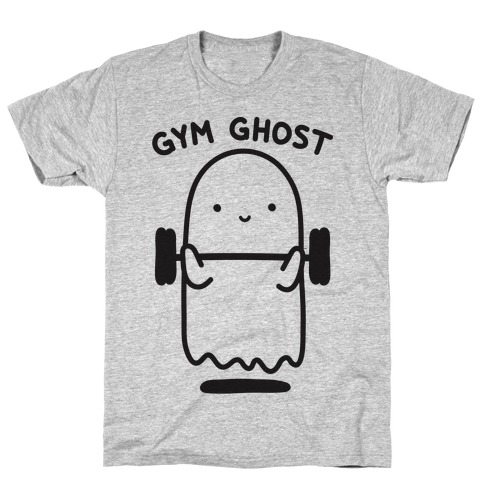 Gym Ghost Mens T-Shirt