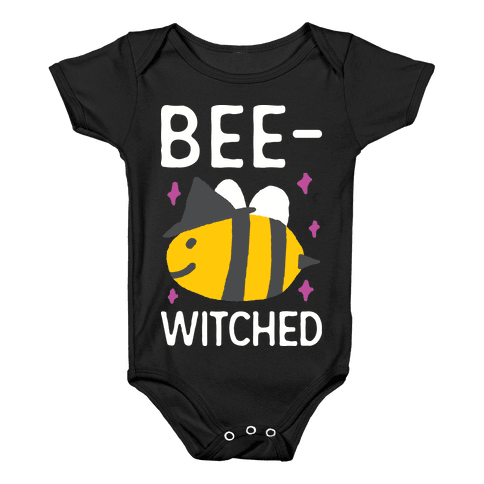 Bee Witched Baby Onesy