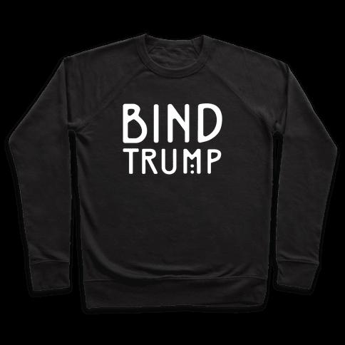 Bind Trump White Print