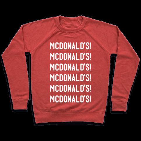 McDonald's McDonald's McDonald's Pullover