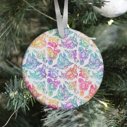 Floral Penis Rainbow Ornament