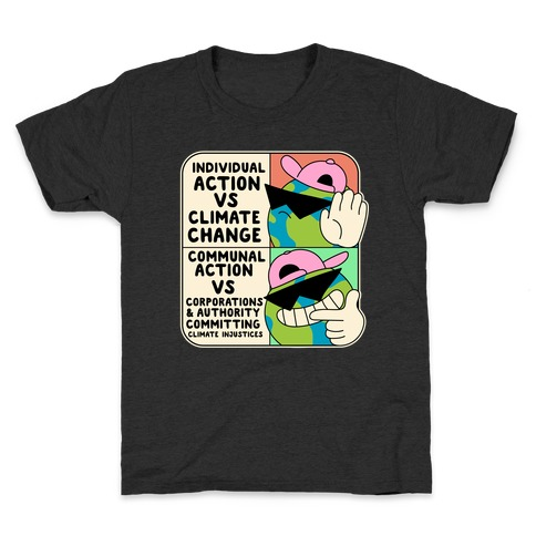 Cool Earth Meme Kids T-Shirt