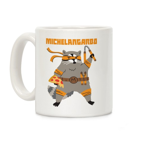 Michelangarbo (Michelangelo Raccoon) Coffee Mug