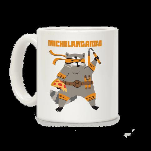 Michelangarbo (Michelangelo Raccoon) Coffee Mug