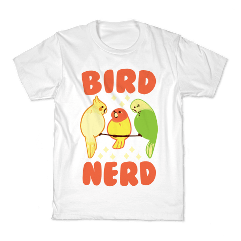 Bird Nerd Kids T-Shirt