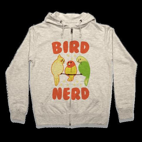 Bird Nerd Zip Hoodie