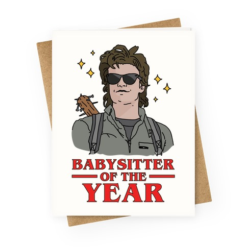 Babysitter of the Year Greeting Card
