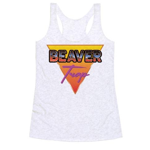 Beaver Trap 99 Parody Racerback Tank Top